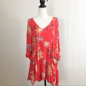 Free People floral boho tunic